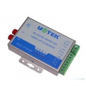 Bộ chuyển đổi RS-232/422/485 sang quang Single mode 60KM UT-2377SM
