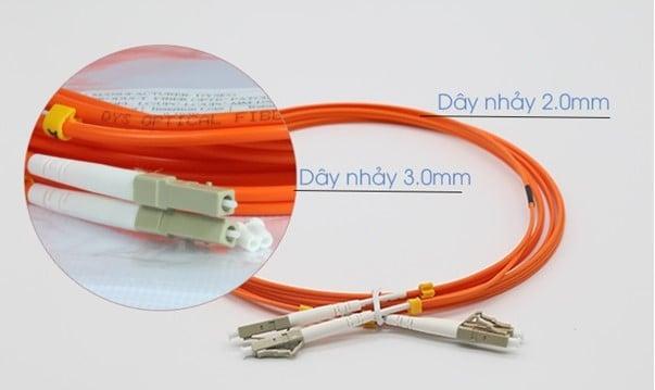 dây cáp quang multimode ㄅ Sự khác nhau giữa các loại dây cáp quang multimode OM1, OM2, OM3, OM4
