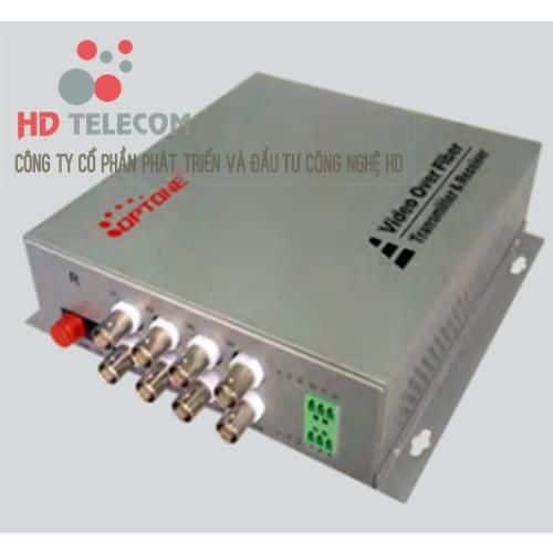 8Ch Video Convertor Fiber
