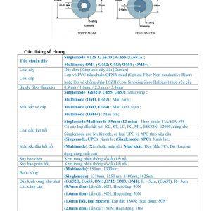 Dây nhảy quang SC/UPC-LC/UPC