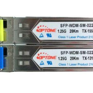 Module quang SFP 1.25G 1sợi A, B 20Km