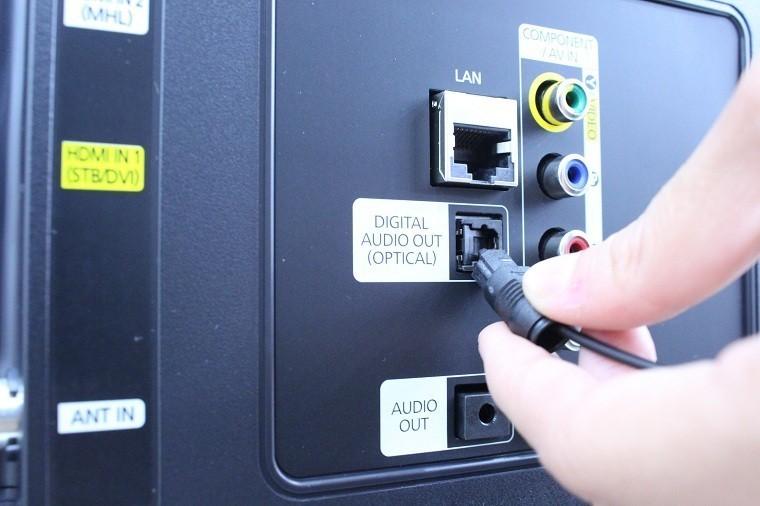 Hướng dẫn sử dụng dây kết nối cổng quang Optical