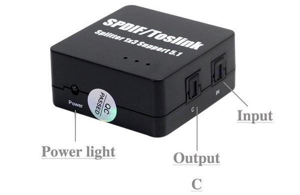 bộ chia cổng audio quang 1 ra 3